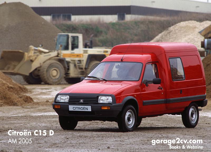 Seit 1984 wurde der auf dem Citroën VISA basierende C15 in Vigo produziert. Es gab Montagewerke in Taiwan, Polen und Marokko. Die große Nachfrage beließ ihn lange im Citroën-Angebot verschiedener Märkte. Bis zum Produktionsende im Herbst 2005 wurden 1.181471 Exemplare hergestellt. Bild: Citroën