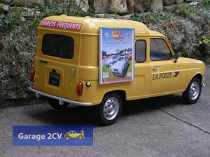 ... doch schon bald entsteht eine ganze Kollektion von Renault 4 ... (Bild: Christophe Goujon/garage2cv.de)