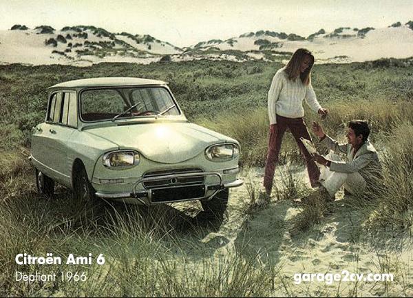 citroen ami 6 depliant 1966