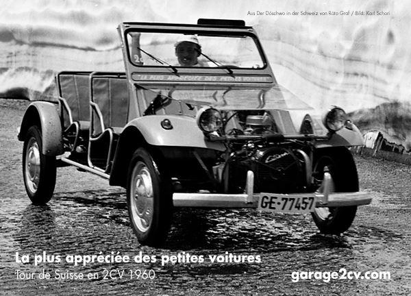 Die 2CV-Schrauberkurse von Jacques Barcat und Reiner Sowa gehen der Ententechnik auf den Grund. Bild: Karl Schori/Archiv garage2cv.de