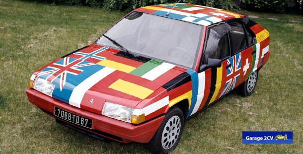 Der BX ist internationaler konzeptioniert als alle bisherigen Citroën. Bild: Citroën / archiv garage2cv
