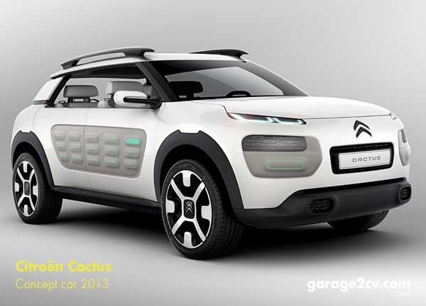 Die Serienversion des Cactus wird auf jeden Fall den neuartigen Flankenschutz Airbump tragen, Citroëns Antwort auf vermeintlich enger werdende Parkboxen.