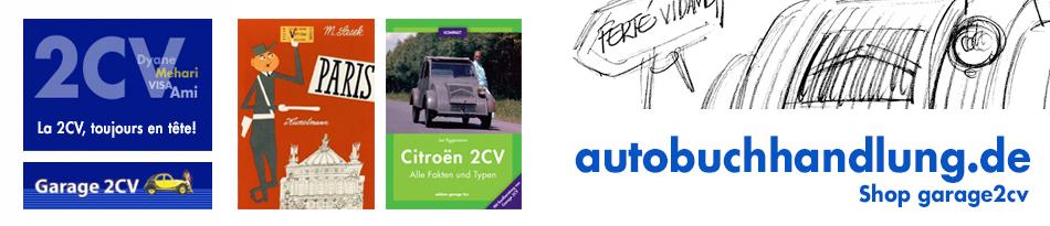 Garage 2CV Citroën und andere