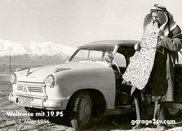 Traditionellen Salzgebäck im irakisch/iranischen Grenzgebiet, 3. März 1956. Bild: archiv garage 2cv