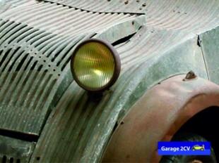 Konstruktiver Minimalismus: Abgesehen von den Radhauben besteht die Karosse des 2CV A 1939 vollständig aus Aluminium. Das spart Gewicht, macht aber vor allem eine Lackierung verzichtbar. Bild: garage2cv