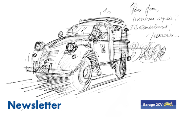 newsletter garage2cv