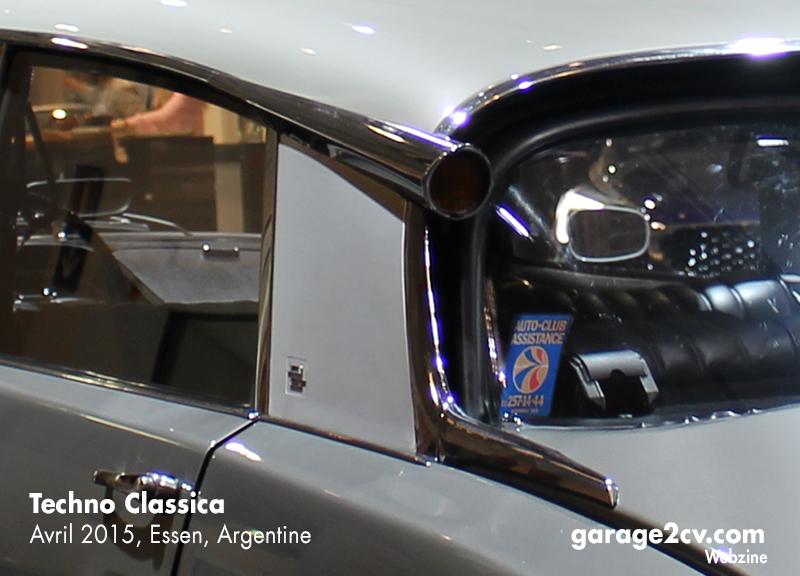 60 Jahre Citroën DS am Stad von DS Automobiles auf der Techno Classica 2015. Bild: Garage 2cv