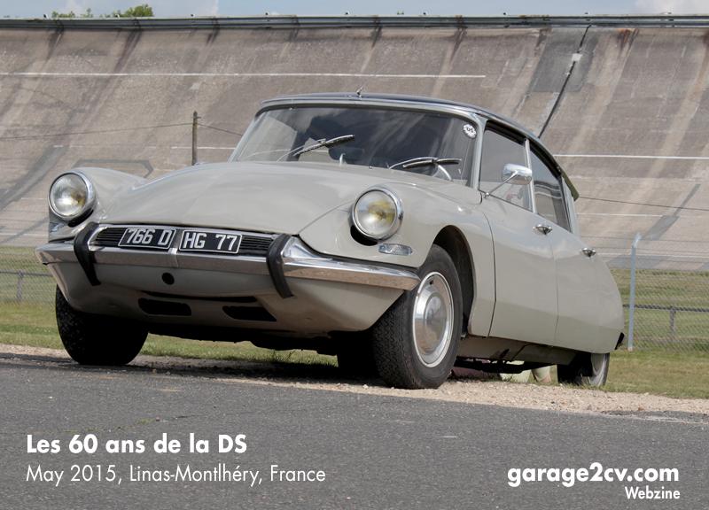 60 ans de la DS 001