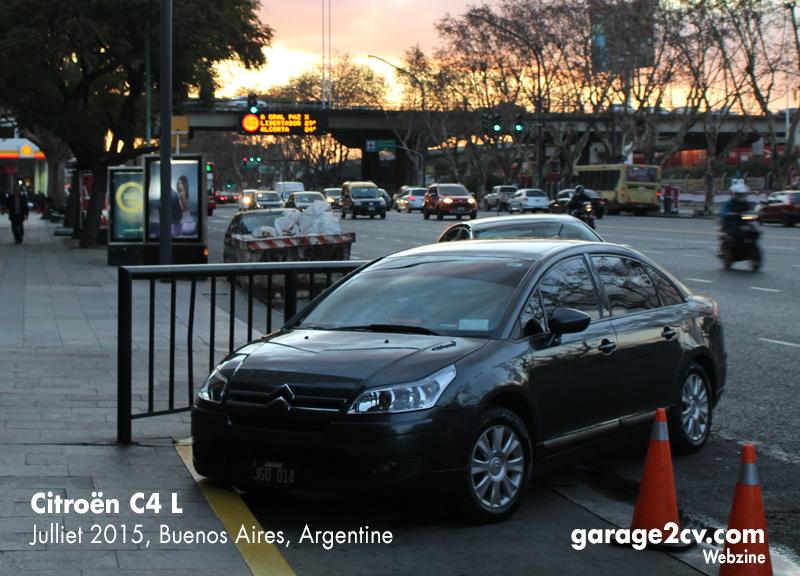 citroen C4 buenos aires argentine