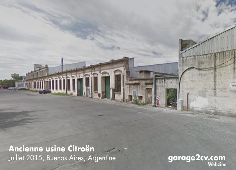 Am 31. Mai 1960 beginnt in Barracas, einem Stadtteil von Buenos Aires, die Produktion des 2CV ...