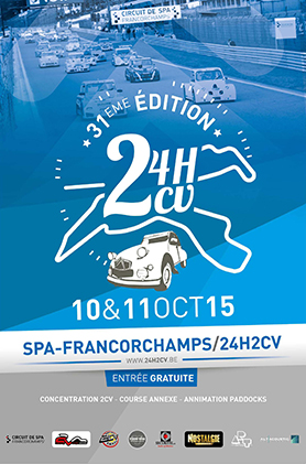 24 Stundenrennen für 2CV in Spa-Franchorchamps - edition.garage2cv.de