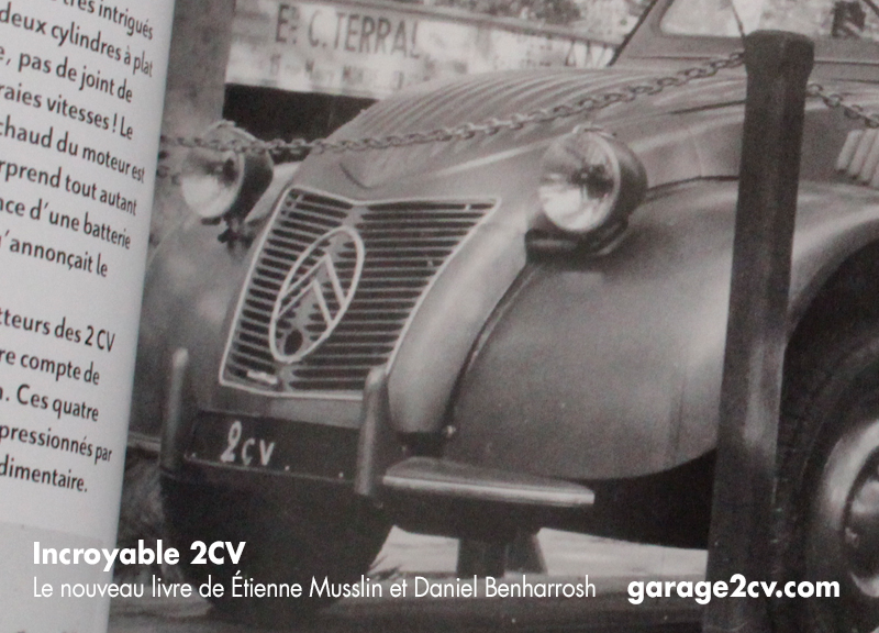 incroyable 2CV musslin benharrosh 1