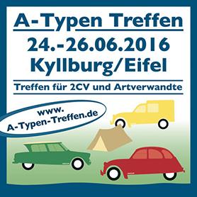 Das Citroën A-Typen-Treffen in Kyllburg