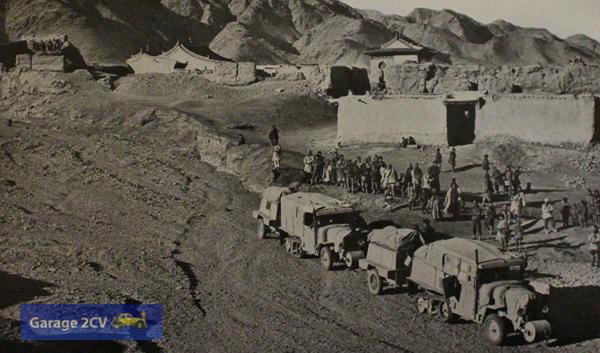 Nach einer aufregenden Nachtfahrt erreicht die Expedition Hungshi an der chinesischen Mauer.