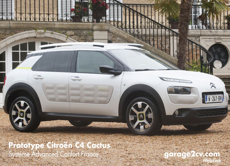 Unterschied sofort spürbar. Prototyp mit neuartigem Citroën Advanced Confort-System. Bild: Citroën