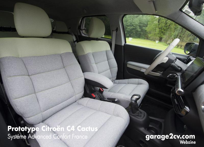 Rückkehr des Sofas: Im Advanced Comfort-Prototyp kehren die weichen Citroën-Polster zurück. Bild: Citroën