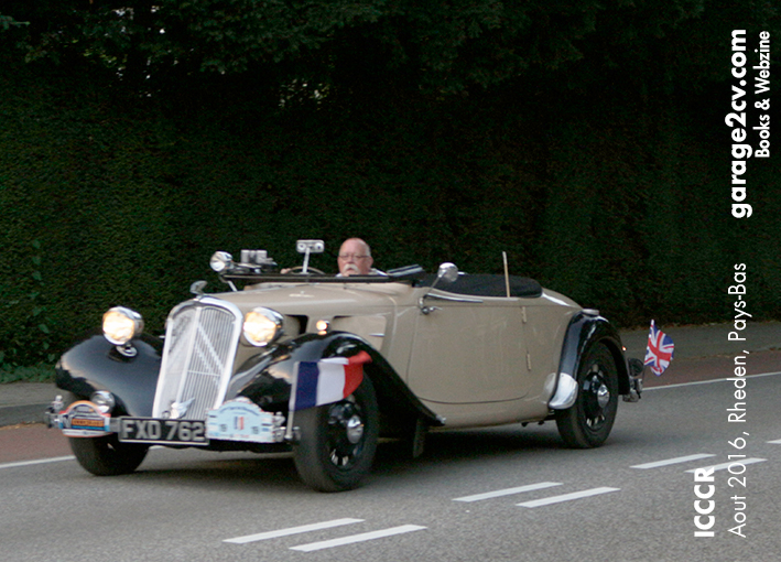 citroen traction avant cabrio british rheden icccr 2016