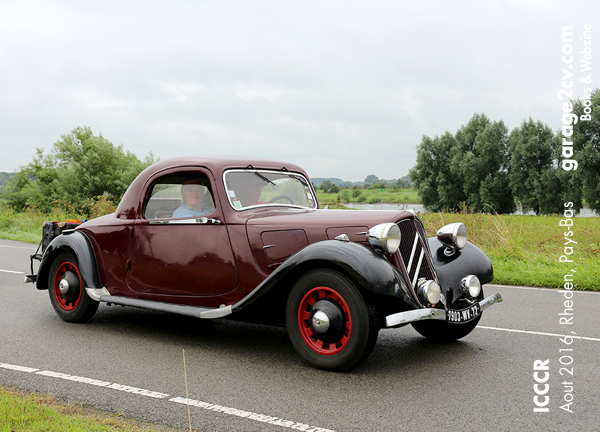 citroen traction avant coupe rheden icccr 2016