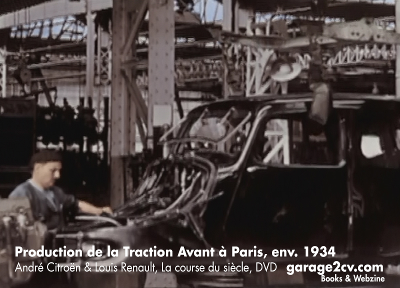 production de la traction avant II