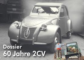Garage 2CV Dossier 60 Jahre Citroën 2CV - Jetzt bei garage 2cv.de