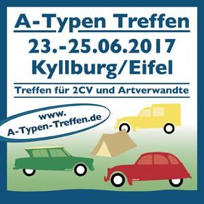 Das A-Typen-Treffen in Kyllburg, 2017 -  Jetzt bei garage2cv.de