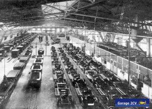 Blick in das Poller Citroënwerk: Dort produzierte Fahrzeuge bestehen zeitweise fast 100%ig aus deutschen Teilen. Bild: Citroën