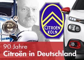 90 Jahre Citroën in Deutschland - Jetzt bei garage 2cv.de