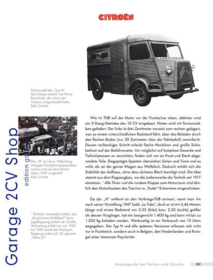 André Lefebvre: Avantgarde bei Voisin und Citroën