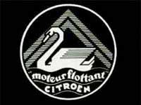 Historische Werbung zum Moteur flottant/ Foto: Archiv Garage 2cv