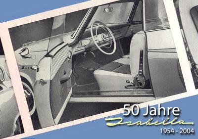 Bild: Blick in das Isabella Coupe. Archiv garage 2cv.de
