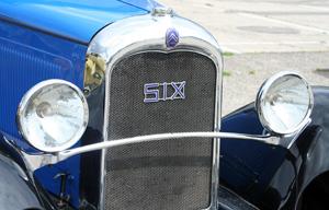 Citroën C6 SIX 1930 auf dem Jubiläumstreffen des ACC in Speyer 2011