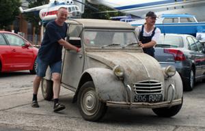 Citroën AZAM im Scheunenzustand in Speyer 2011