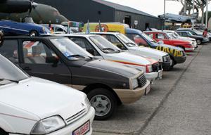 elten geworden: Citroën AX und VISA auf dem Treffen des ACC in Speyer 2011