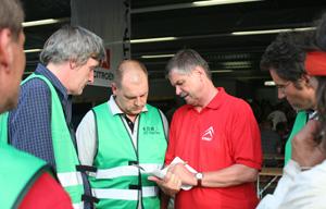 Eingespeiltes ACC-Team auf dem Jubiläumstreffen 2011 in Speyer