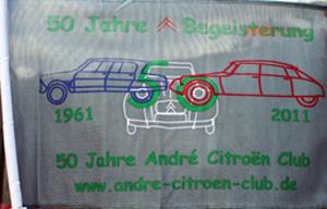 50 Jahre Begeisterung - 50 Jahre André Citroën Club
