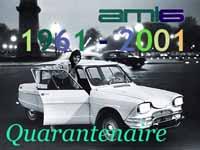 40 Jahre Citroen Ami6 - Herzlichen Glückwunsch!