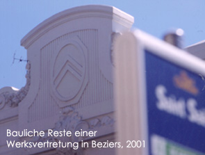 Beziers/2001 Bild:garage2cv 2003