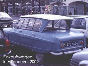 Villeneuve, 2002. Bild:garage2cv 2003