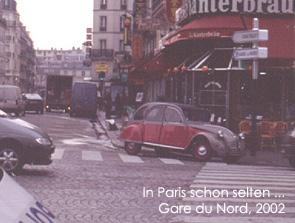 Paris, 2002. Bild:garage2cv 2003