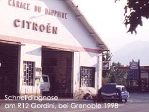 Bei Grenoble 1998. Bild:garage2cv 2003