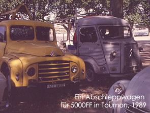 Tournon, 1989. Bild:garage2cv 2003