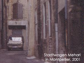Montpellier, 2001. Bild:garage2cv 2003