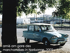 ami6 in Narbonne, 2002 Bild: garage2cv 2003