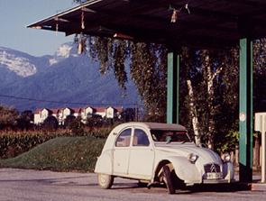 Bei Grenoble, 1999. Bild:garage2cv 2003