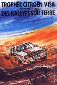 Plakat zur VISA Trophée 1981