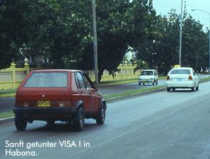 VISA-Tuning auf kubanisch / Bild: Archiv garage2cv/Eggermann