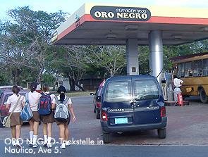 Oro Negro-Tankstelle in Habana-Nautico / Bild: Archiv garage2cv/Eggermann