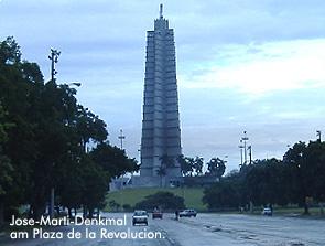 Jose-Marti-Denkmal, Plaza de la Revolucion / Bild: Archiv garage2cv/Eggermann
