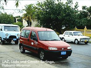 UAZ, Lada und Citroën Berlingo / Bild: Archiv garage2cv/Eggermann