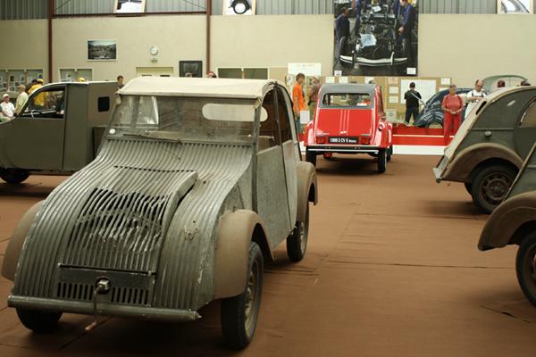 TPVs und der letzte in Frankreich produzierte 2CV - garage2cv.de